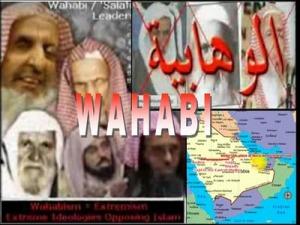 Voyez sur la droite l'endroit d'où les Wahhabites sont venus